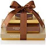Godiva Chocolatier Sweet Surprise Gift Tower, 46 Count