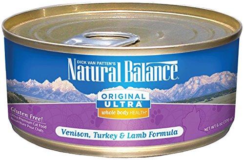 Natural Balance Original Ultra Whole Body Health Venison, Turkey & Lamb Canned Cat Formula