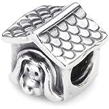 Pandora 790592EN27 - Abalorio de mujer de plata de ley, 1 cm