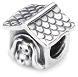 Pandora Unisex Sterling Silver Dog Charm 790592EN27 (Does Not Come in Pandora Box)