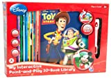 My Interactive Point-and-Play with Disney 10-Book Library (red box)