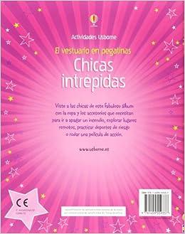CHICAS INTREPIDAS - VESTUARIO EN PEGATINAS: Fiona Watt
