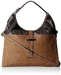 Elespry Women's Handbag (Brown) (JG-31532-BR)
