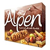 Alpen Fruit & Nut with Chocolate Cereal Bar 5 Pack 145g