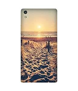 Beach Love Huawei Ascend P7 Case