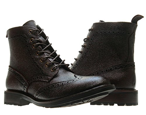 JOSEPH ABBOUD Preston Boot, Brown, 8 D(M) US