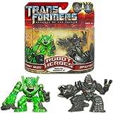 Transformers MV2 Robot Heroes Autobot Skids & Megatron