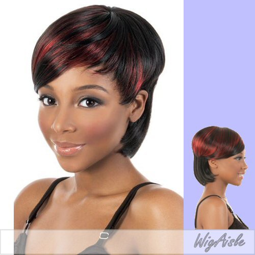 MULAN (Motown Tress) - Synthetic Full Wig in OFF BLACK