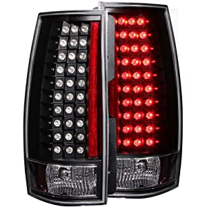 AnzoUSA 311142 Black Escalade Look G4 LED Taillight for Chevrolet Tahoe/Suburban - (Sold in Pairs)