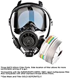 SGE 400/3BB Military and Police Tactical Gas Mask Rated For...