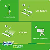 Swiffer Sweeper Floor Mop Starter Kit, 7 Dry Cloths and 3 Wet Cloths
