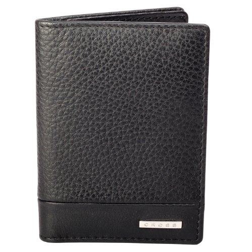 cross-folded-id-card-genuine-leather-case-black-one-size