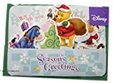 Winnie the Pooh Santa Christmas Card – Disney Christmas Cards