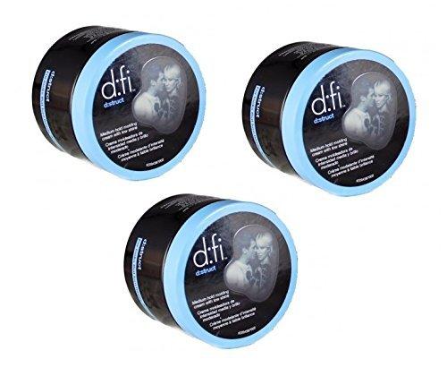 D:fi Struct Molding Cream 2.65 Ounce (Set of 3) (D Fi Hair Cream compare prices)