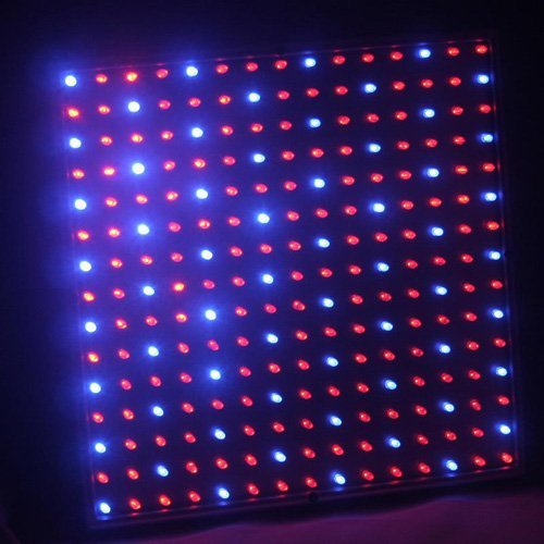 Cozyswan®2501Mx Blue & Red 225 Led 13.8 Watt Square Grow Light Panel 110 Volt