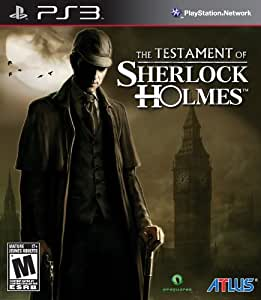 The Testament of Sherlock Holmes - PlayStation 3 Standard Edition