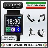 Prowatch - ORIGINALE IN ITALIANO - Smartwatch orologio touch intelligente PW8 - Compatibile con Android e iPhone Ios 6 plus S