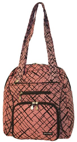 jenni-chan-brush-strokes-soft-gym-tote-red-one-size