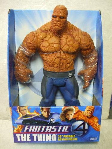 Picture of Toy Biz Fantastic Four - THE THING - 26 inch Posable Action Figure (B004UW4EII) (Fantastic Four Action Figures)