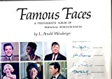 img - for Famous faces;: A photograph album of personal reminiscences, book / textbook / text book