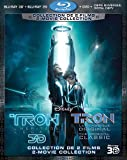 Tron: Legacy / Tron: The Original Classic Special Edition (version française) [Blu-ray 3D + Blu-ray + DVD]