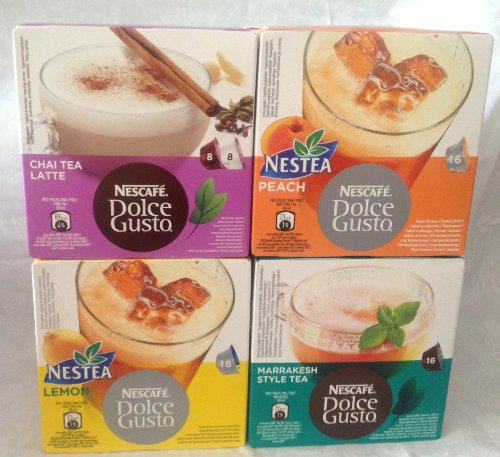 Nescafé Dolce Gusto Tea lovers 64 capsules variety