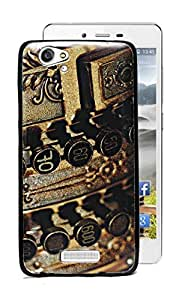 ECellStreet Sparkle Printed Soft Back Case Cover Back Cover For Gionee Marathon M3 - Buttons