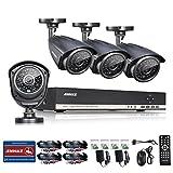 ANNKE New AHD 8CH 1080N Surveillance DVR System + 4x 960P(1280*960) CCTV Cameras (HVR/DVR/NVR 3 in 1, P2P Technology, 1.3 Mega-Pixels, Motion Detection, Vandal/Weather-Proof Body)-NO HDD - Best Reviews Guide