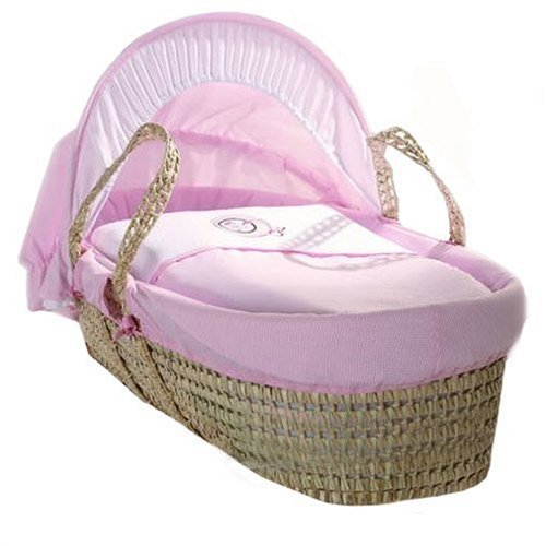 Baroo Rosie Rabbit Luxury Moses Basket