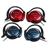 SOMIC MX108 Blue High Quality Headphone On Ear Earphones Sports with Microphone Earhook Earphone
