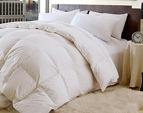 Buy Over-sized for Pillowtop - High Quality - Down and Feather - 95/5  Year Round - Comforter-Queen...