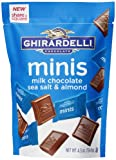Ghirardelli Minis Pouch, Chocolate Sea Salt and Almond, 4.3 oz.
