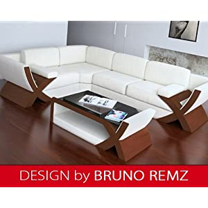 billig kaufen bruno remz konstanz leder sofa ledersofa ecksofa wohnlandschaft ledercouch. Black Bedroom Furniture Sets. Home Design Ideas