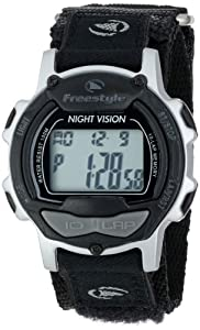 Freestyle Predator Watch - black/silver, adjustable