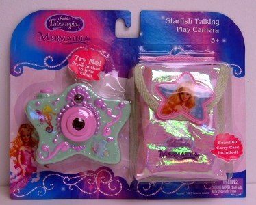 Barbia Fairytopia Mermaidia Starfish Talking Play Camera