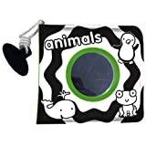 Baby's Very First Bath Book: Animals (Black & White Bath Book)by Jo Moon