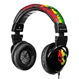 51boiN47hZL. SL160  Skullcandy Hesh Headphones S6HECZ 078 (Shattered Rasta) ..Buy This