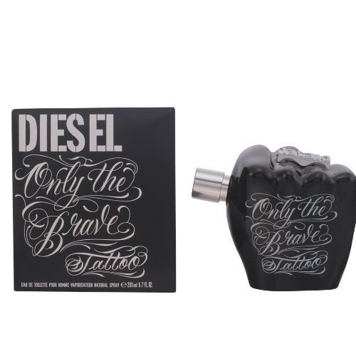 Diesel, Only the Brave Tattoo, Eau de Toilette spray da uomo, 200 ml