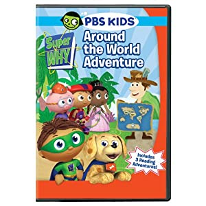 Super Why: Around The World Adventure DVD