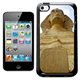 Fancy A Snuggle Great Sphinx of Giza Egypt Design Hard Back Case Cover for Apple iPod Touch 4th Generation