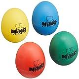 NINO ニノ エッグシェイカー4個セット NINO SET540 赤色 黄色 緑色 青色 【国内正規品】 ランキングお取り寄せ