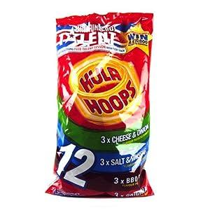 Amazon.com: KP Hula Hoops Classic 12 Pack 300g