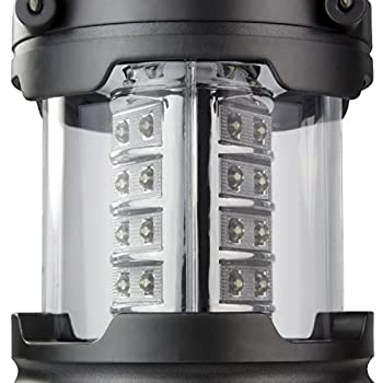 Active Research Water Resistant LED Lantern Portable 30 LED Flashlight, Battery Powered, (Pack of 4)