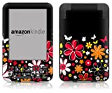 DecalGirl Kindle Skin (Fits Kindle Keyboard) Laurie's Garden (Matte Finish)
