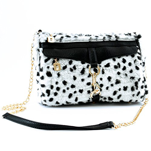 adrienne-landau-snow-leopard-shoulder-bag-white