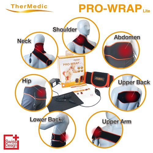 Thermedic 家庭用温熱治療器 (遠赤外線赤外線日本製炭素繊維織物かた、こし、筋肉痛) Pw140l