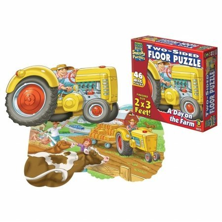 Cheap Fun Patch 1309 Sneaky Floor Puzzle- Farm- Pack of 2 (B005GVBUCA)