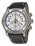 Ebel Men's 9245L80/1633519 1911 Tekton Silver Chronograph Dial Watch