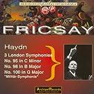 Haydn: 3 London Symphonies (Milit�r-Symphonie)