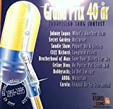 Diverse 2 CD Eurovision Song Contest Grand Prix 40 år